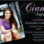 Graduation Party Invitation Template Design