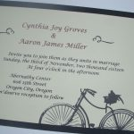 Handmade Wedding Invitation Card