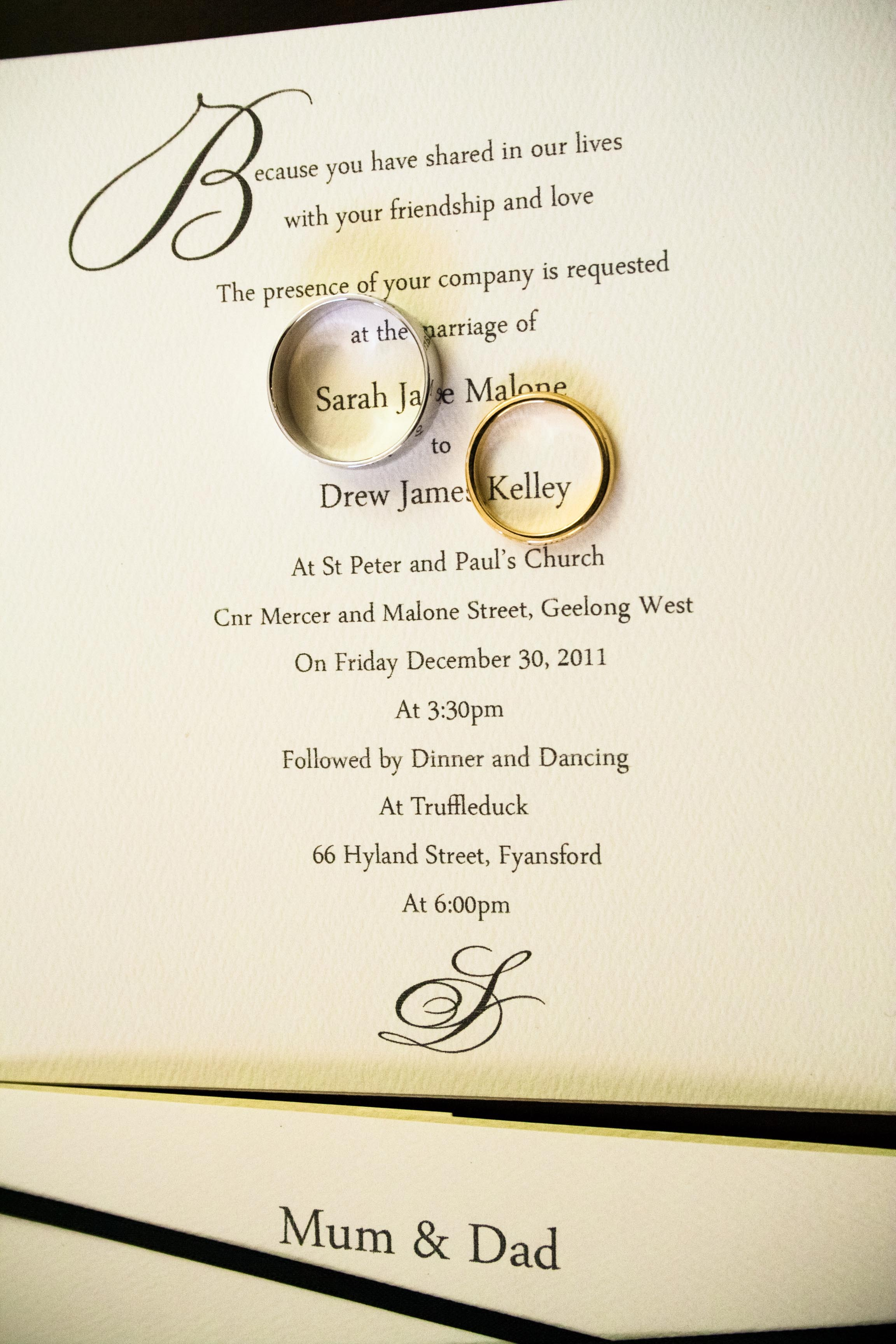 Handmade Wedding Invitation Etiquette