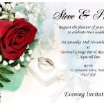 Inexpensive Wedding Invitation Card