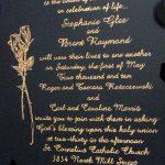 Inexpensive Wedding Invitation Quo