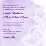 Invitation Online Sample
