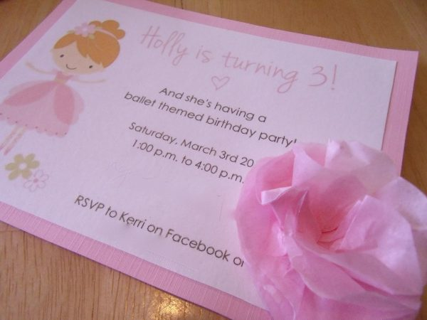 Online Invitation Sample