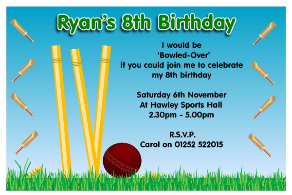 Party Invitations Template