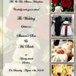 Personalized Wedding Invitation Idea