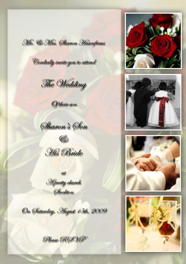 Personalized Wedding Invitation Idea