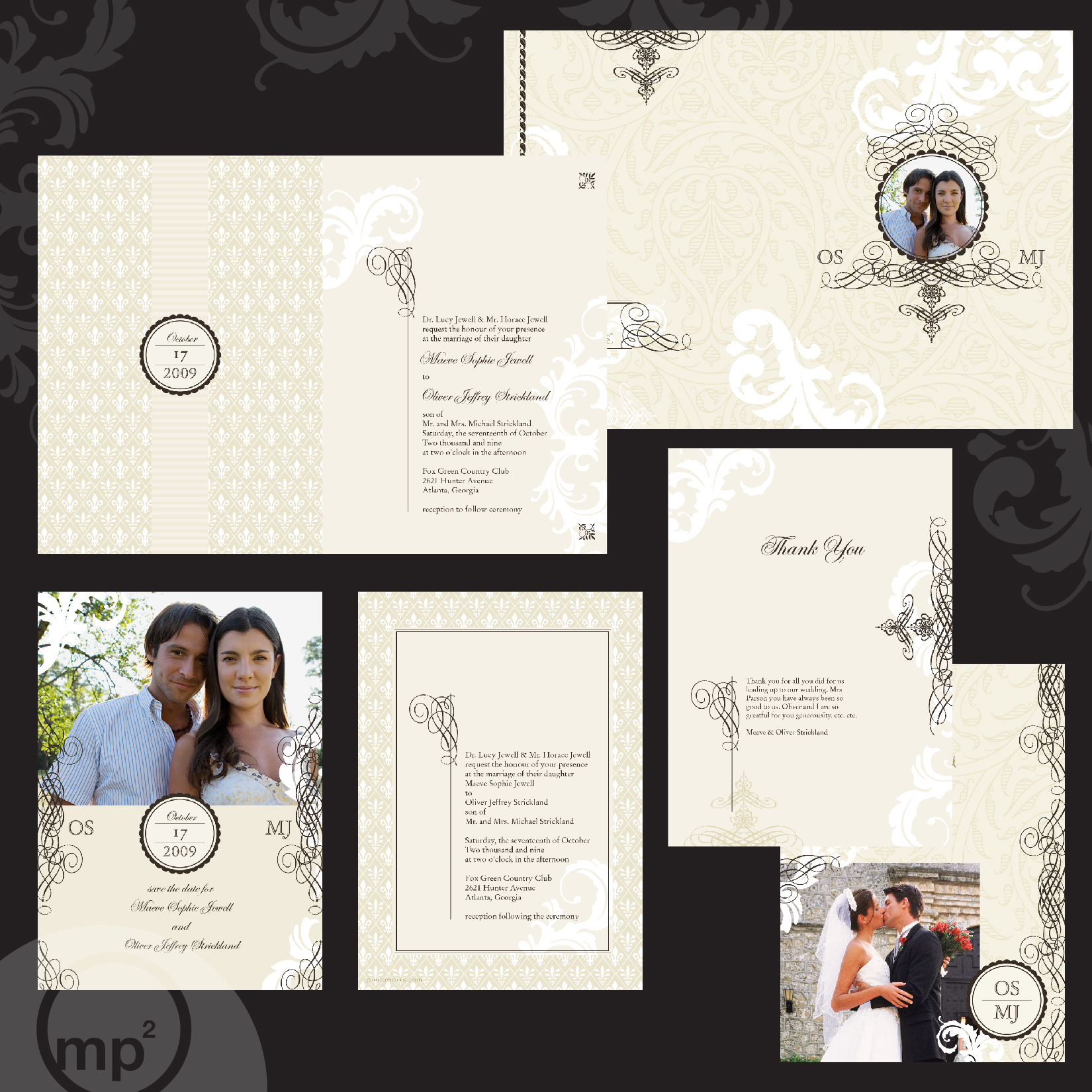 Personalized Wedding Invitation Template