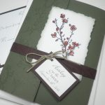 Pocket Wedding Invitation Card