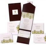Pocket Wedding Invitation Sample