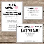 Printable Wedding Invitation Card