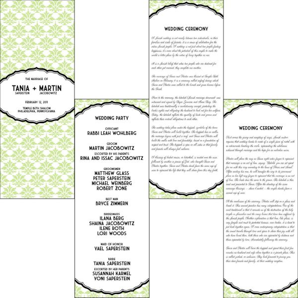 Printable Wedding Invitation Idea