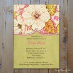 Printed Invitation Sample