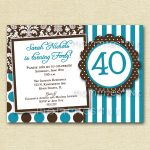 Quotes Card Birthday Invitation
