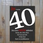 Quotes Card Birthday Invitation Card