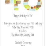 Quotes Card Birthday Invitation Etiquette