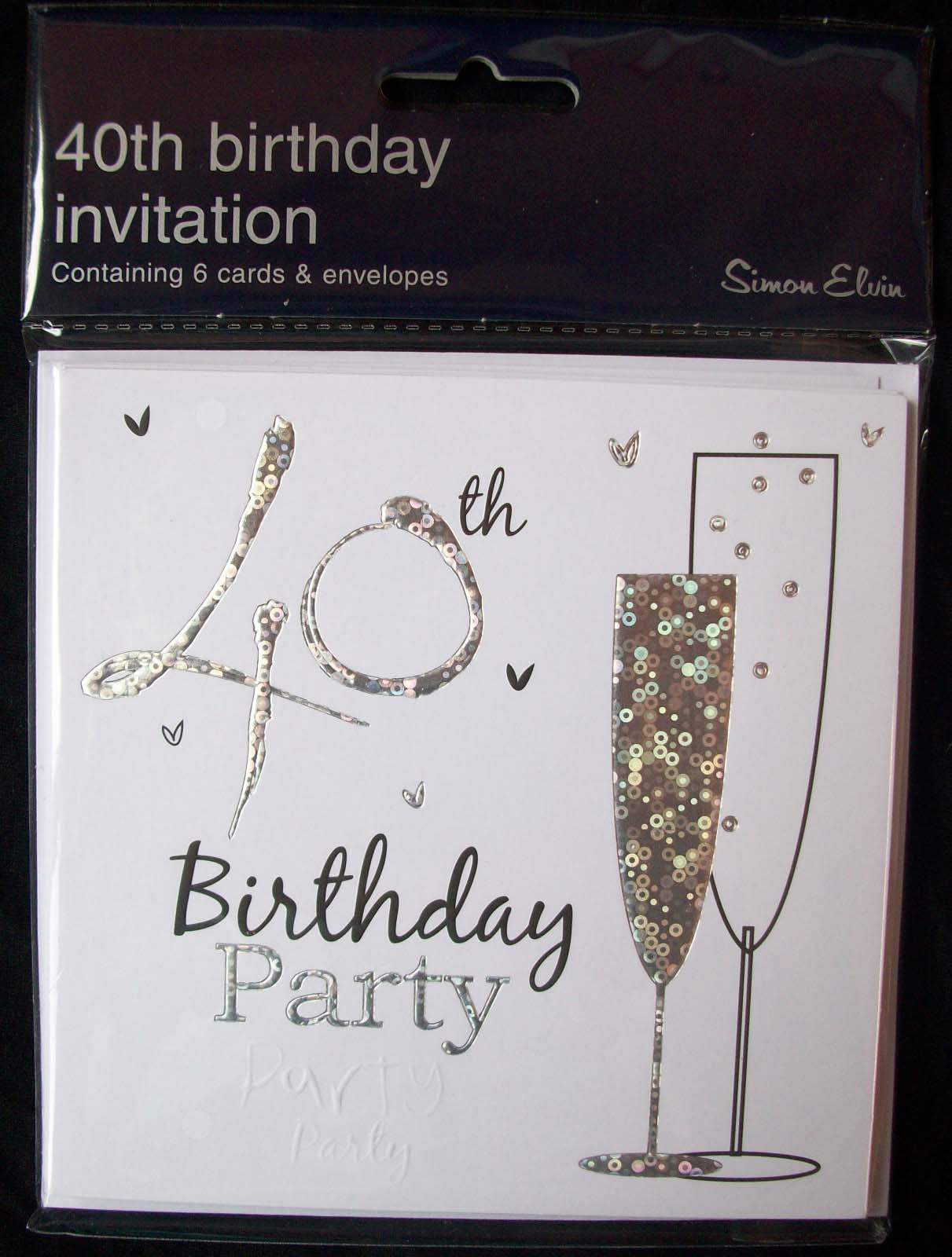 Quotes Card Birthday Invitation Online