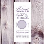Rehearsal Dinner Invitation Template Design