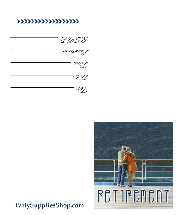 Retirement Invitation Sample