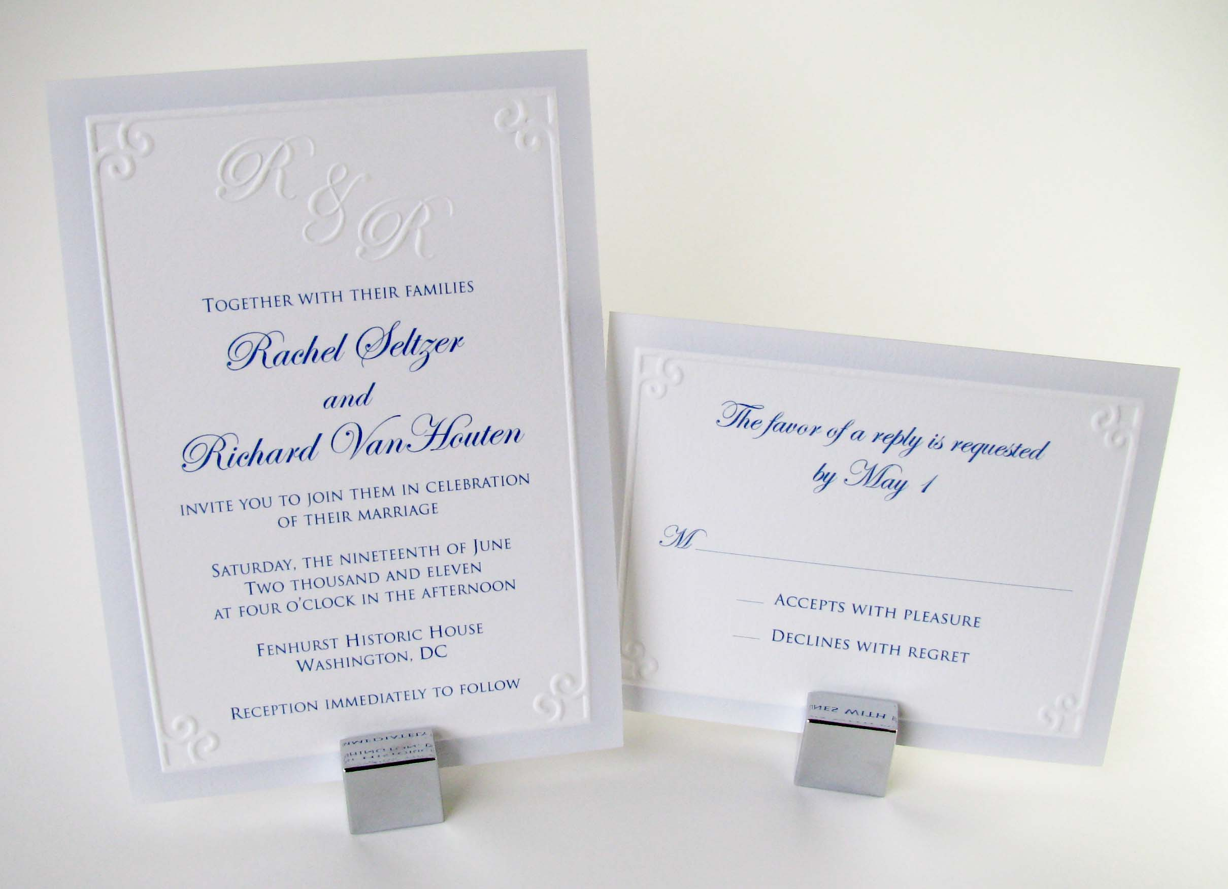 Sample Wedding Invitation Wording