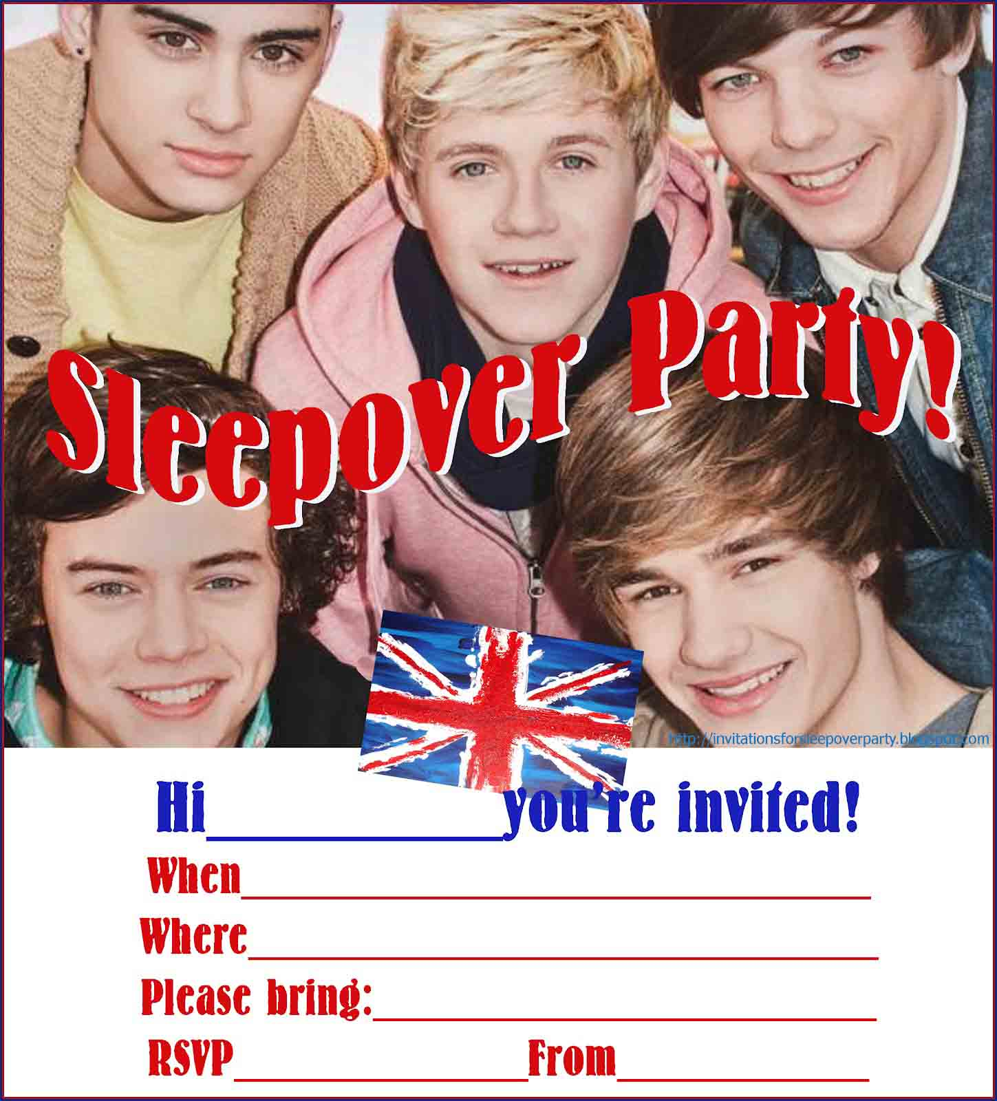 Sleepover Invitation Quotes