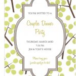 Surprise Party Invitation Card