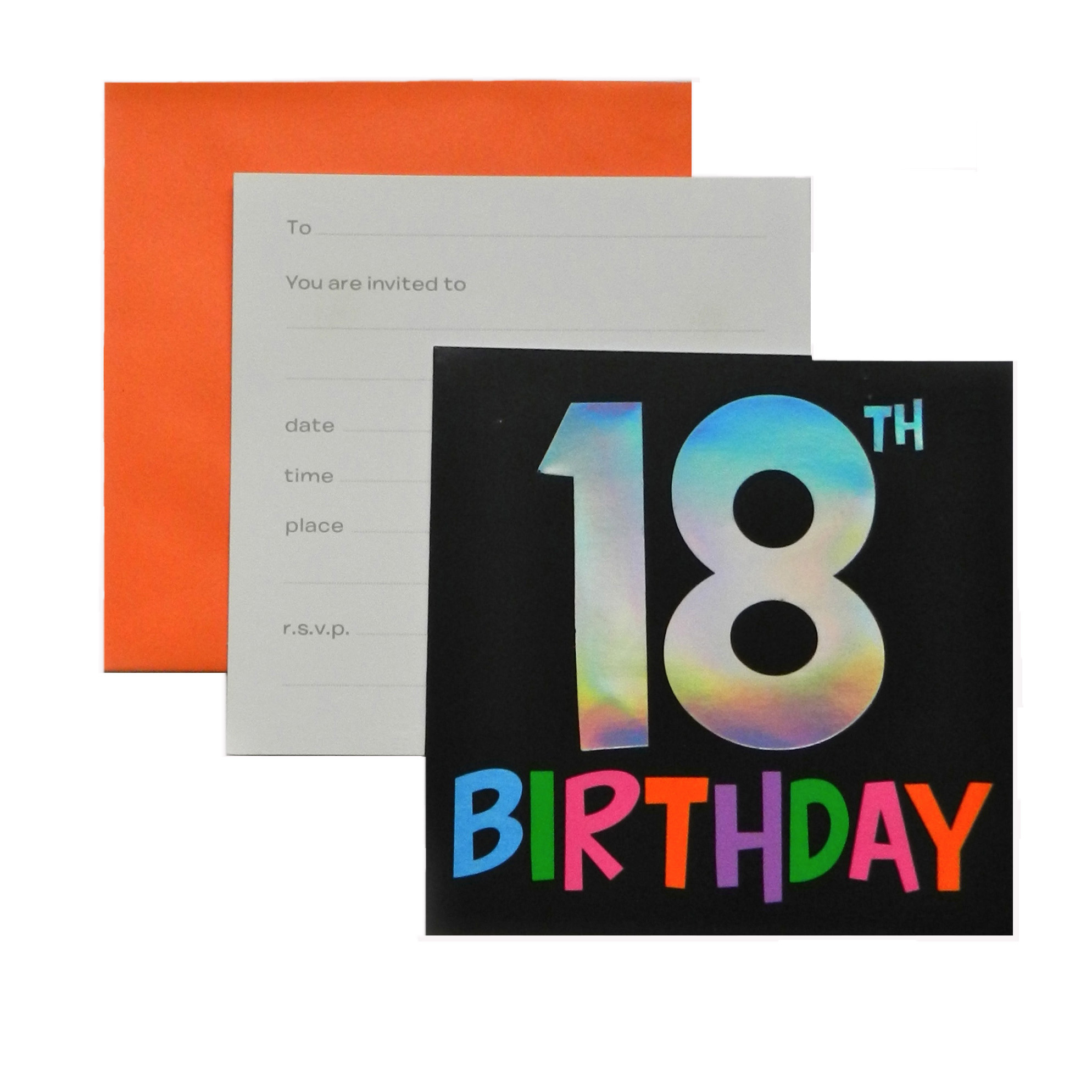 Template Design Birthday Invitation