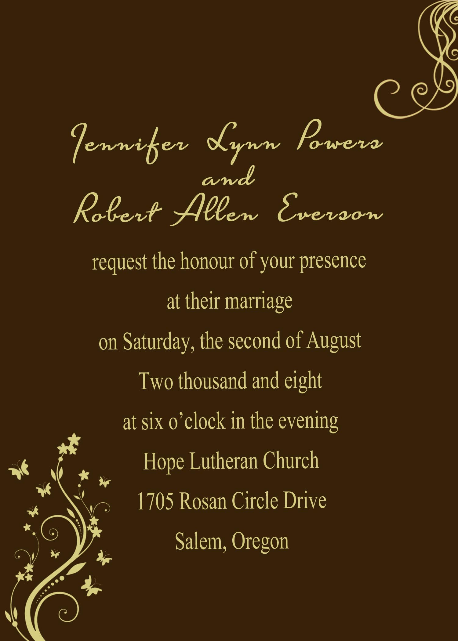 Wedding Invitation Design Online
