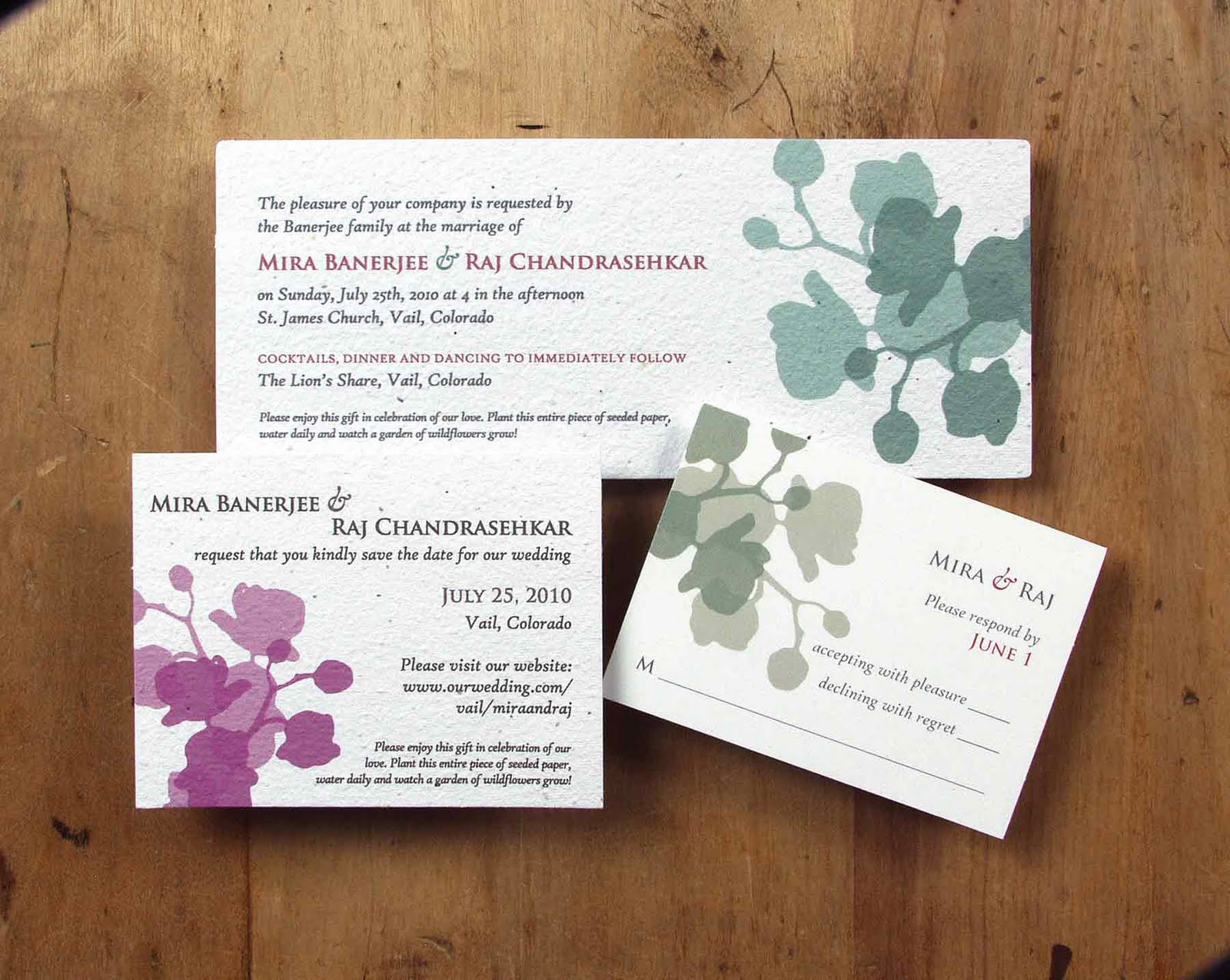 Wedding Invitation Design Wording