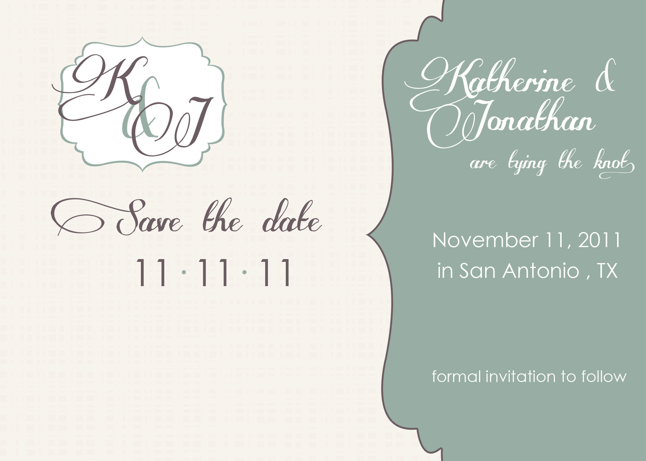 Wedding Invitation Designs Template
