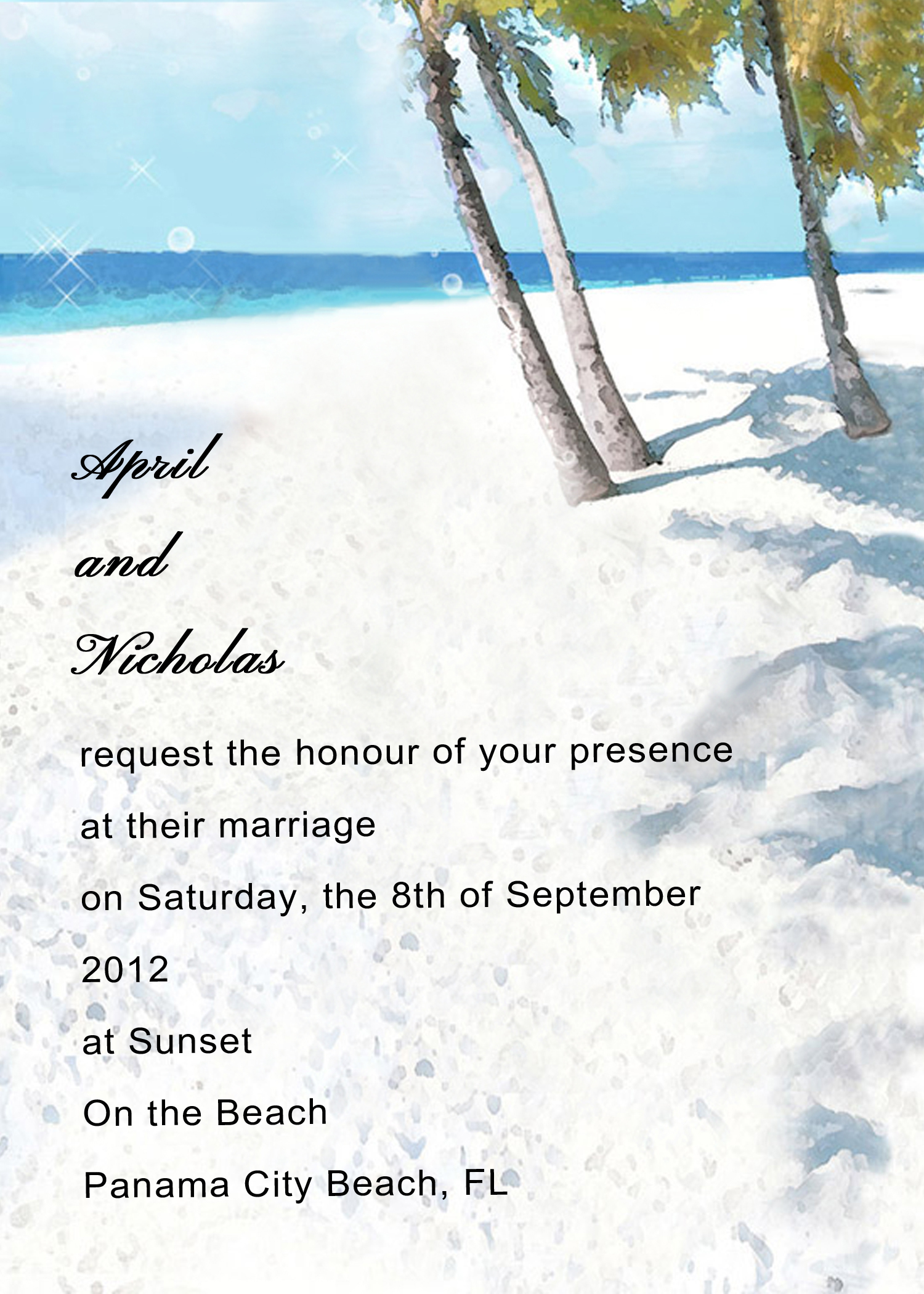 Wedding Invitation Ideas Sample