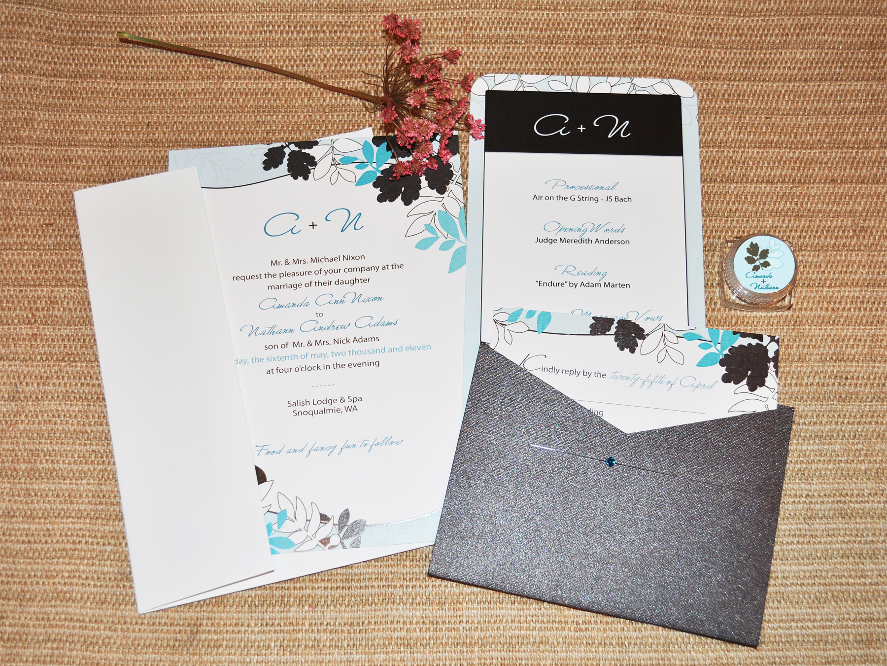Wedding Invitation Ideas Template Sample