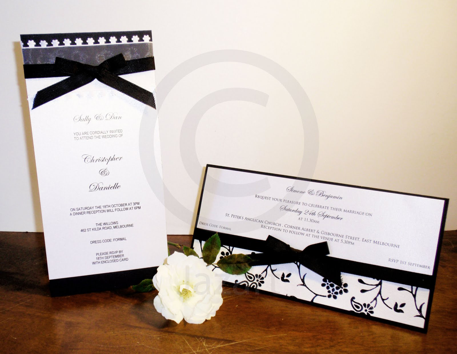 Wedding Invitation Samples Card