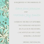 Wedding Invitation Samples Online