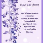Wedding Invitation Samples Template Card