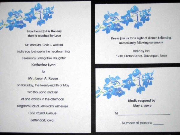 Wedding Invitation Wording Template