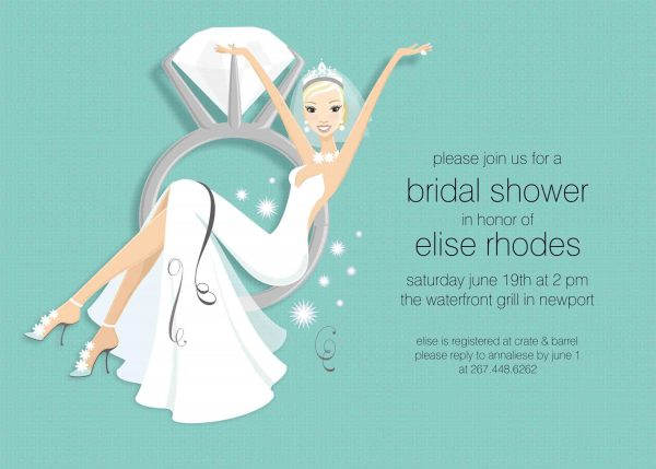 Wedding Shower Invitation Sample